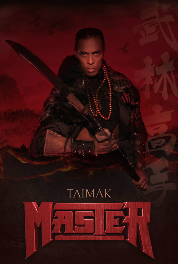 The poster for Master, starring Taimak.
